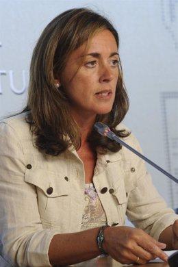 Consejera de Administraciones Públicas y Portavoz del Gobierno, Ana Rosa Migoya