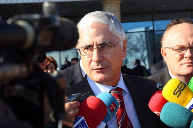 El presidente regional, José María Barreda