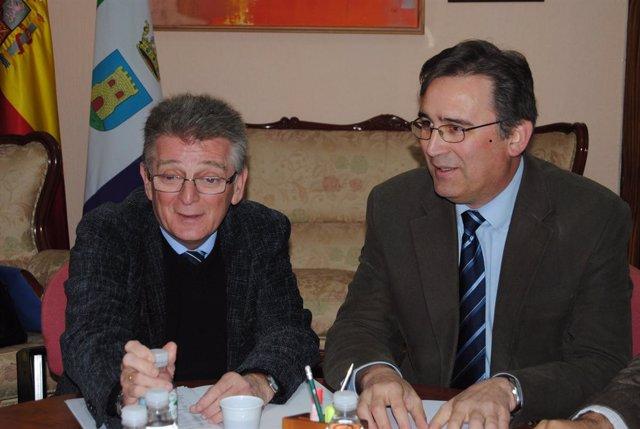 El Presidente De Diputación Visita Jimena