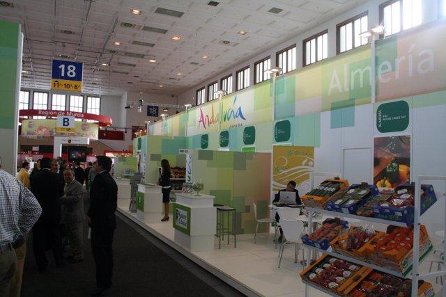 Stand de productos andaluces en Fruit Logística 2011