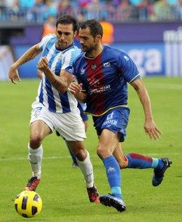 El lateral izquierdo del Levante, Juanfran García.
