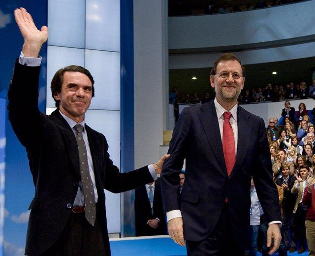 Rajoy y Aznar