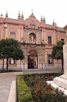 Fachada del Museo de Bellas Artes de Sevilla