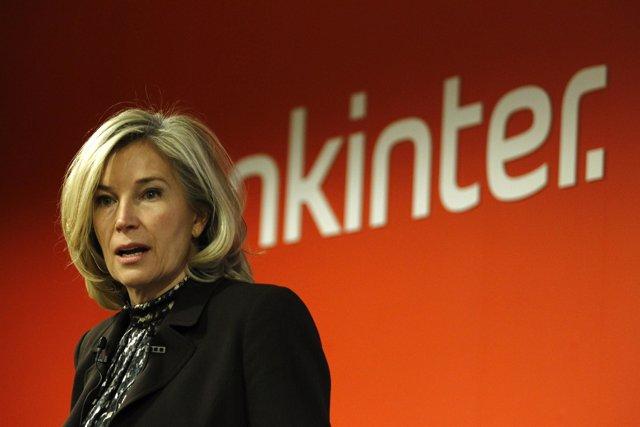 Consejera delegada de Bankinter, María Dolores Dancausa