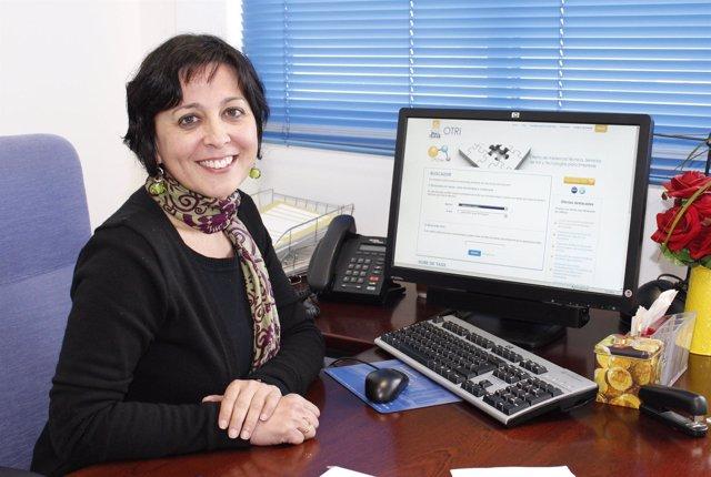 La directora de la OTRI de la UPO, Rosario Jiménez