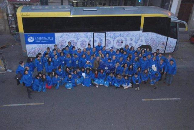 Imagen de los voluntarios de la Capitalidad Cultural Córdoba 2016