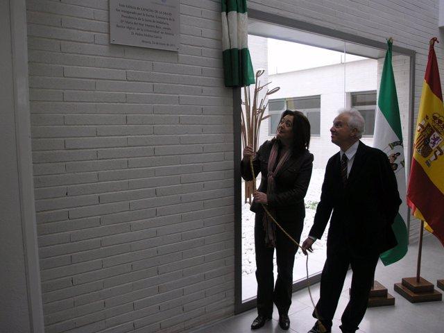 La consejera de la Presidencia, Mar Moreno, en un acto en la Universidad de Alme