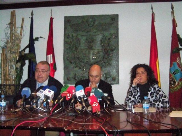 Tontxu Rodríguez, Rodolfo Ares y Mariola Serrano
