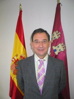 Joaquín Bascuñana García. Consejero de Política Social, Mujer e Inmigración