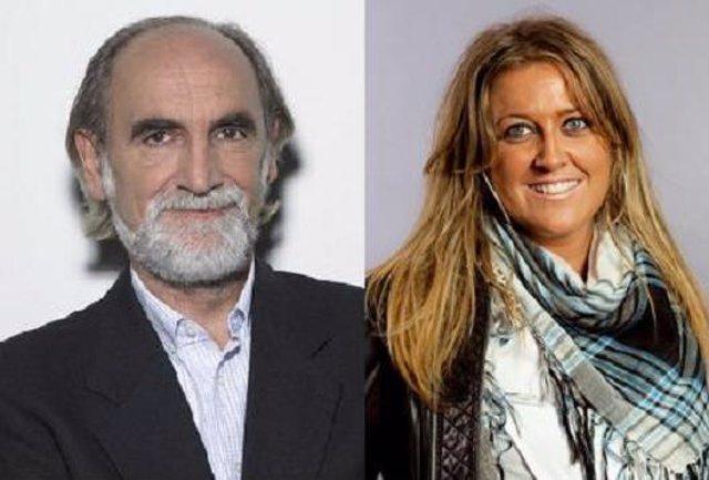 El alcalde de Ferrol, Vicente Irisarri, y la diputada Beatriz Sestayo