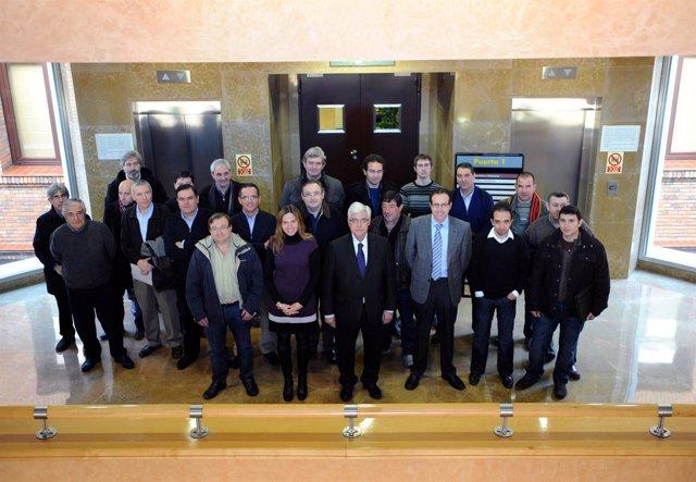 El consejero Arguilé ha firmado un convenio para la gestión telemática de las su