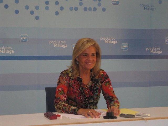 La portavoz del PP en el Parlamento andaluz, Esperanza Oña