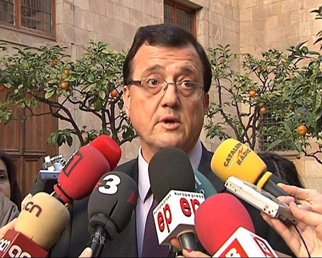 El conseller de Empresa y Ocupación, Francesc Xavier Mena