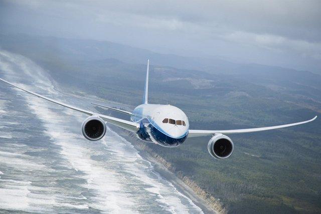 El 787 de Boeing
