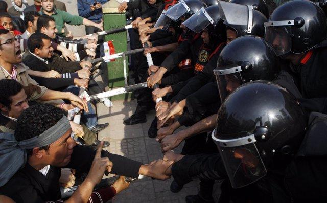Siguen los distrubios en Egipto