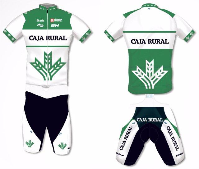 Nuevo maillot del Caja Rural