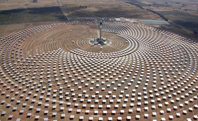 Gemasolar, planta solar de Torresol en Fuentes de Andalucía (Sevilla)