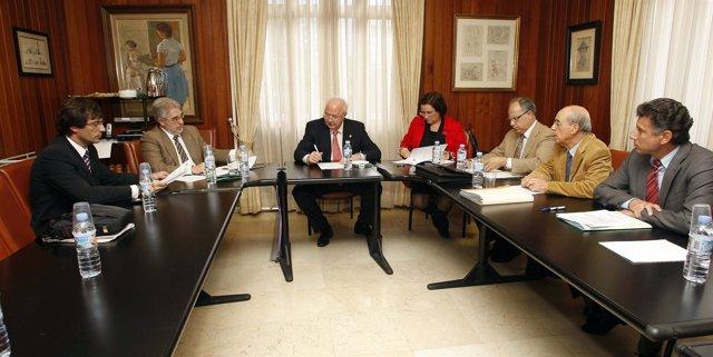 Reunión de la Federación Canaria de Islas (Fecai)