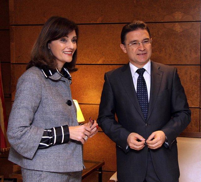 Ana Botella y Serafín Castellano.