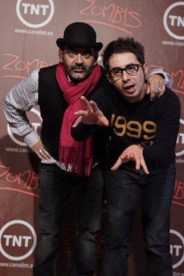 Berto y Corbacho presentan la serie Zombies