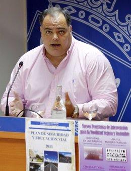 Consejero de Juventud, Deportes y Educación Vial del Cabildo de Lanzarote, Manue