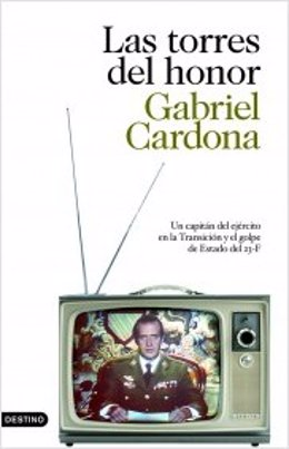 """Portada del libro de Gabriel Cardona 'Las torres del honor"""""""