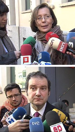 Jordi Hereu y Montserrat Tura