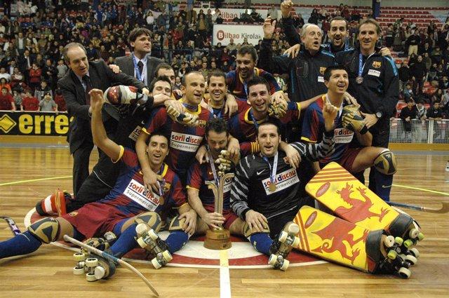 Foto FC Barcelona Sorli Discau Campeón De La Copa Continental
