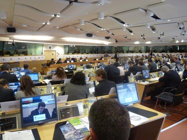 Feijóo, en una intervención en el Comité de las Regiones en Bruselas