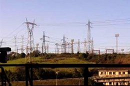 Torres de electricidad, energía