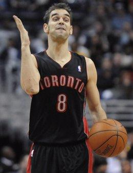 Jose Manuel Calderón Toronto Raptors
