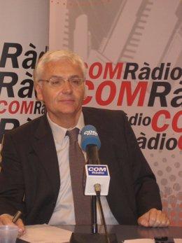 El conseller de cultura Ferran Mascarell