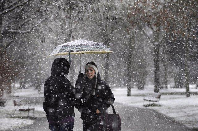 Nieve en España