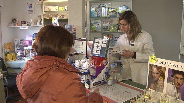 Farmacia rural en Alameda del Valle (Madrid)