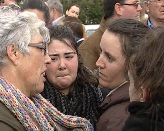 Entierro de la menor fallecida en Arriate (Málaga)