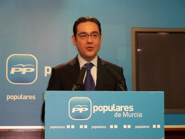 José Gabriel Ruiz, vicesecretario Sectorial del PP de la Región de Murcia