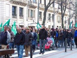 Gobierno vasco cifra el seguimiento de la huelga en Euskadi en casi un 20 por ciento
