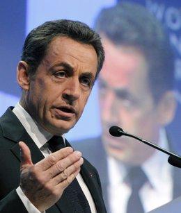 Presidente galo, Nicolas Sarkozy