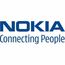 Logotipo de la empresa de telefonía móvil finlandesa Nokia