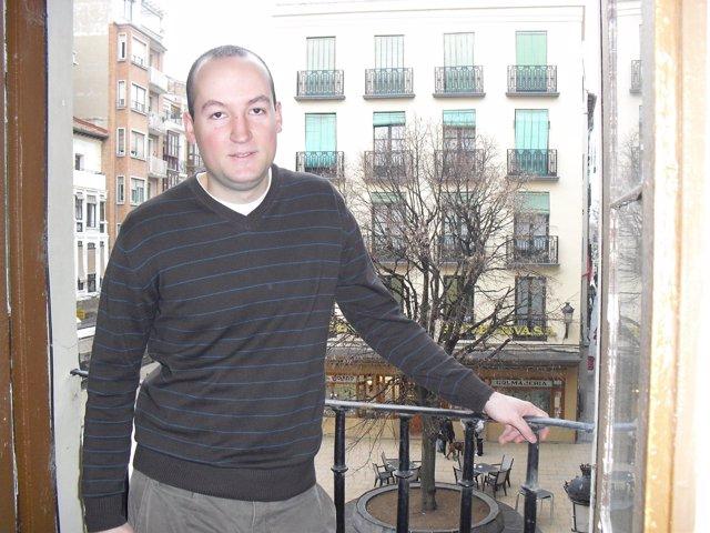 David Antón, presidente de Juventudes Riojanas