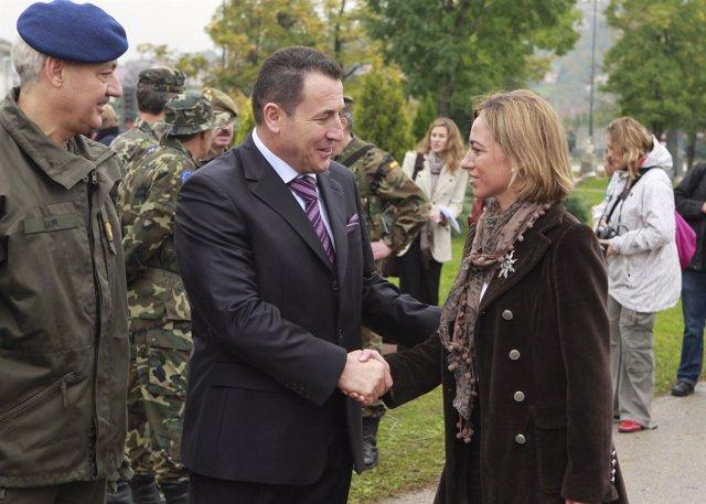 Chacón y Cikotic en Sarajevo