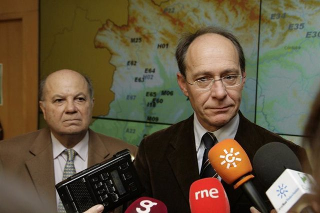 El consejero de Medio Ambiente de la Junta de Andalucía, José Juan Díaz Trillo