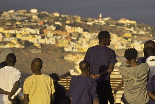 Inmigrantes en La Gomera