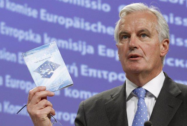 Comisario de Mercado Interior y Servicios Financieros de la UE, Michel Barnier