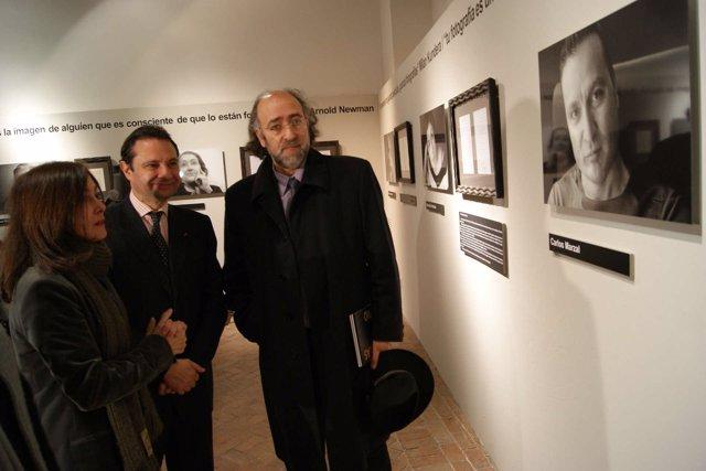 Exposición 'Palabras para un rostro' en La Alhóndiga, Segovia