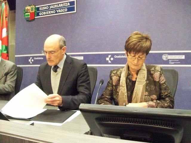 Bengoa y Noeno firman el protocolo