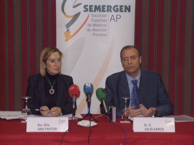 Ana Pastor y Julio Zarco