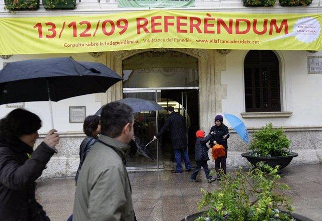 Consulta sobre la independencia en Barcelona