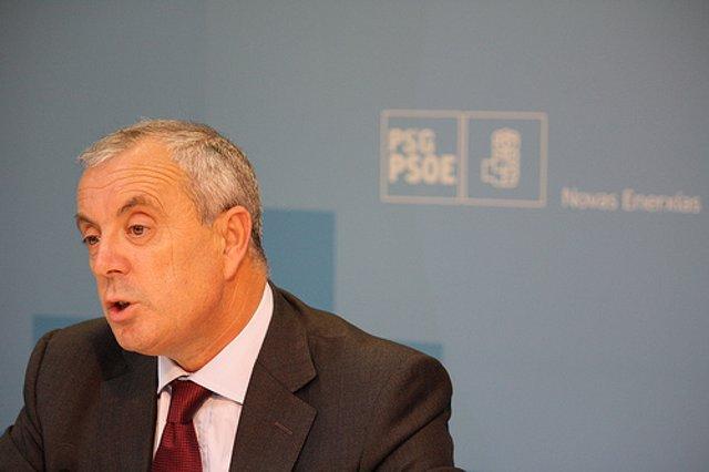 Pachi Vázquez, secretario general del PSdeG