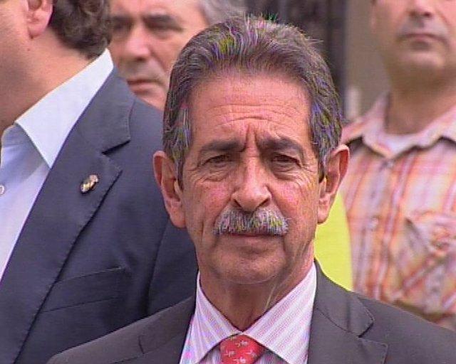 El presidente de Cantabria, Miguel Ángel Revilla